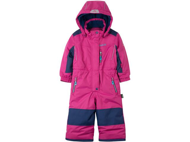 Kamik Lazer Snowsuit Kinder pink/rose